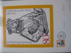 Künstleredition ;Ulrich von Hutten von 1988; Handsigniert 718/1000
