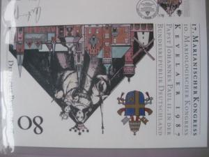 Künstleredition ;17. Marianischer Kongress 1986; Handsigniert 164/1000