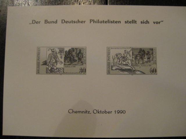 Schwarzdruck DDR Michel-Nr. 3354-55 \