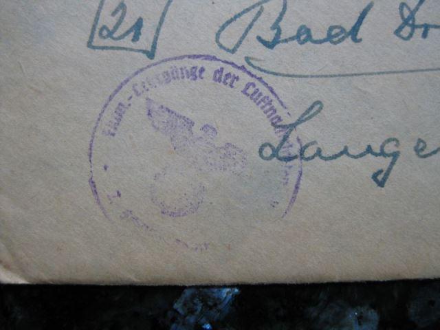 Feldpostbrief von Klotzsche nach Bad Driburg