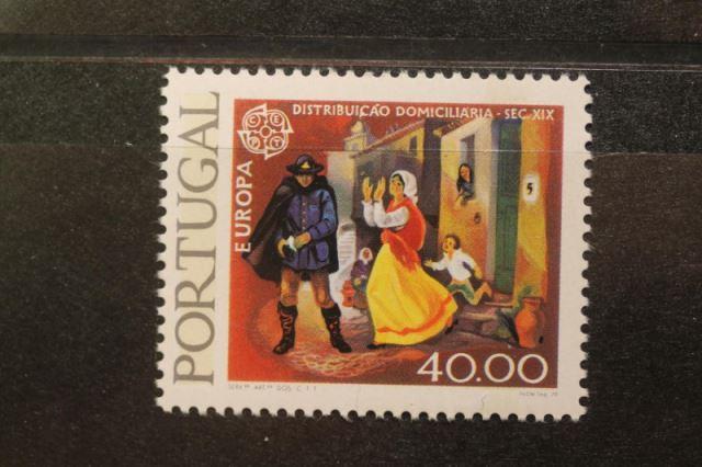 Portugal CEPT 1979; 40.00 E. MiNr.; 1442y Abart mit doppeltem Phosphor-Balken 0