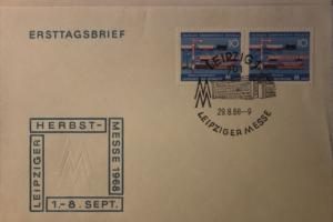 Leipziger Messe FDC 1968