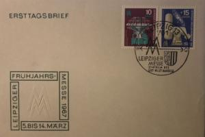 Leipziger Messe FDC 1967