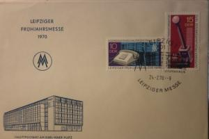 Leipziger Messe FDC 1970