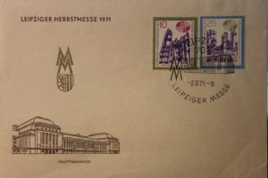 Leipziger Messe FDC 1971