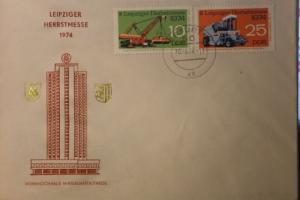 Leipziger Messe Brief 1974