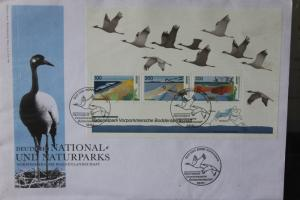 Ersttagsbrief Künstler- Ersttagsbrief FDC der Deutsche Postphilatelie: Nationalpark Boddenlandschaft