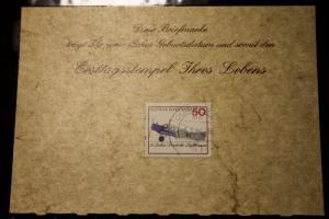5.3.1976; Personalisierte Geburtstagskarte; Personalisierte Ersttagskarte; Personalisierte Geburtskarte