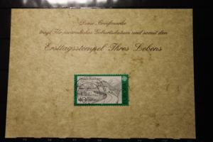 8.10.1977; Personalisierte Geburtstagskarte; Personalisierte Ersttagskarte; Personalisierte Geburtskarte