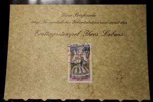 23.2.1977; Personalisierte Geburtstagskarte; Personalisierte Ersttagskarte; Personalisierte Geburtskarte