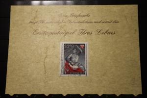 3.11.1977; Personalisierte Geburtstagskarte; Personalisierte Ersttagskarte; Personalisierte Geburtskarte