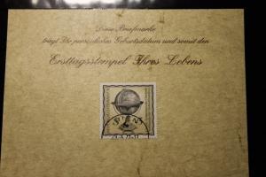 29.6.1977; Personalisierte Geburtstagskarte; Personalisierte Ersttagskarte; Personalisierte Geburtskarte