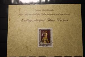 25.11.1977; Personalisierte Geburtstagskarte; Personalisierte Ersttagskarte; Personalisierte Geburtskarte