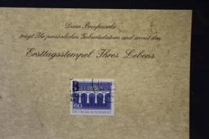 31.10.1984; Personalisierte Geburtstagskarte; Personalisierte Ersttagskarte; Personalisierte Geburtskarte