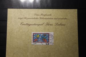 10.12.2008; Personalisierte Geburtstagskarte; Personalisierte Ersttagskarte; Personalisierte Geburtskarte
