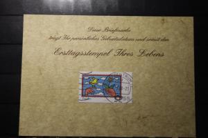 27.5.2008; Personalisierte Geburtstagskarte; Personalisierte Ersttagskarte; Personalisierte Geburtskarte