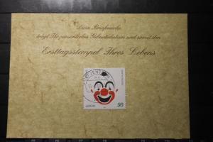 11.6.2008; Personalisierte Geburtstagskarte; Personalisierte Ersttagskarte; Personalisierte Geburtskarte