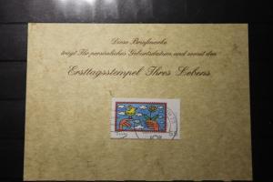 30.10.2008; Personalisierte Geburtstagskarte; Personalisierte Ersttagskarte; Personalisierte Geburtskarte
