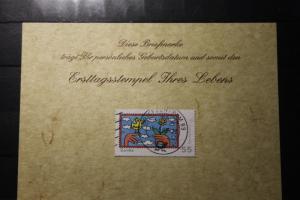 5.6.2008; Personalisierte Geburtstagskarte; Personalisierte Ersttagskarte; Personalisierte Geburtskarte