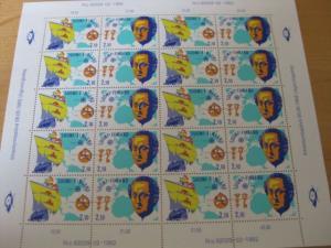 Kleinbogen KB Finnland CEPT 1992 Mi.-Nr. 1178-9 **