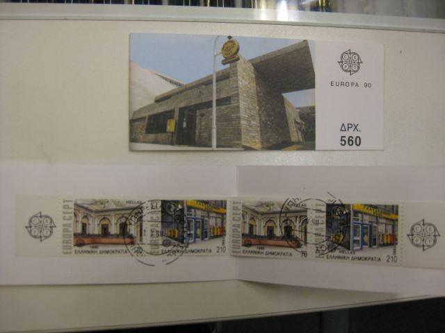 CEPT 1990 Griechenland Markenheft MH 13