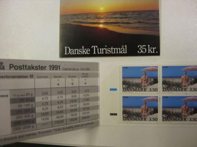 Skandinavien-NORDEN-Gemeinschaftsausgabe 1991 Dänemark Markenheft MH