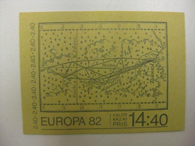 CEPT 1982 Schweden Markenheft MH