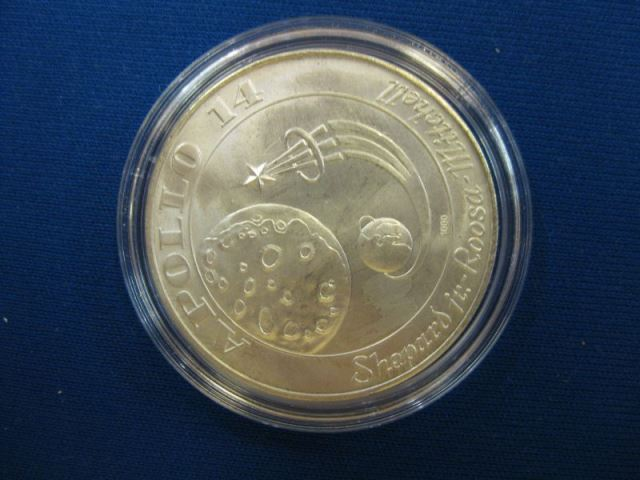 Silbermedaille APOLLO14  Medaille aus Sterlingsilber