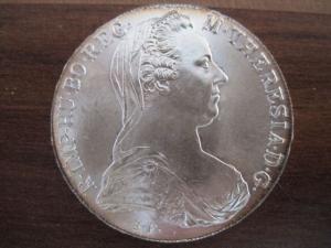 Medaille  aus Silber Maria Theresia Taler NP Silbermünze