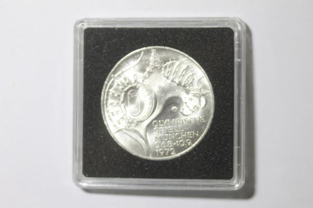 10 Dm Silbermünze Olympische Spiele 1972 In München 1972 G Stg