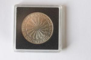 10 DM Silbermünze Olympische Spiele 1972 in Deutschland, 1970 D, stg