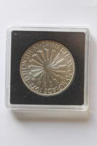 10 DM Silbermünze Olympische Spiele 1972 in München, 1972 G, stg
