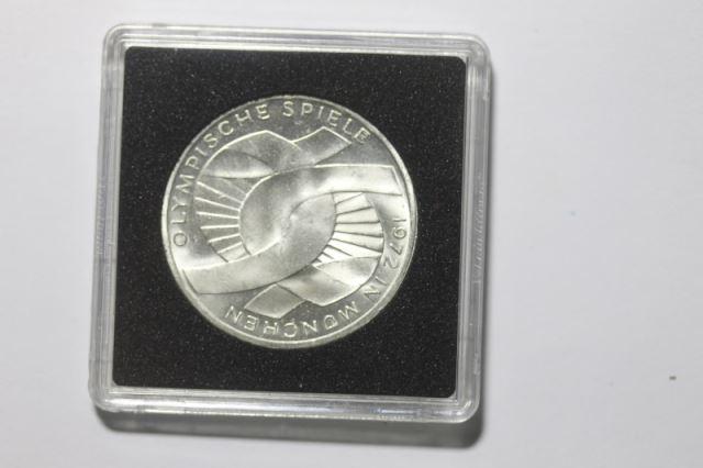 10 Dm Silbermünze Gedenkmünze Olympiade In München 1972 1971 J Stg