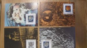Maximumkarten MK Inter. Astronautische Föderation 1990