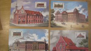 Maximumkarten MK Postgebäude 1987