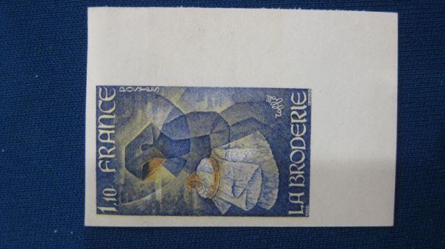 Michel-Nr. 2199 U ** geschnitten, ungezähnt Stickerei 1980