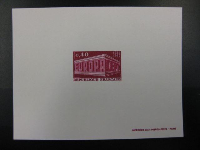 Frankreich CEPT Europa-Union 1969 Mi.-Nr. 1665-66 Epreuves de Luxe