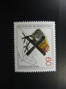 Tierschutz Mi.-Nr. 1102 mit Andreaskreuz