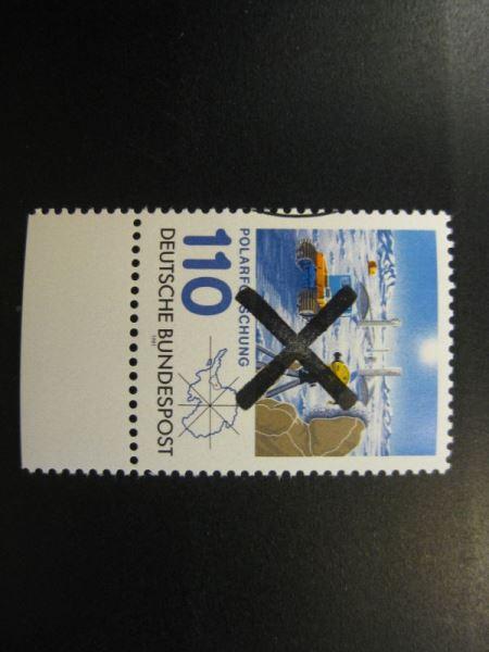 Polarforschung mit Andreaskreuz Mi.-Nr. 1100