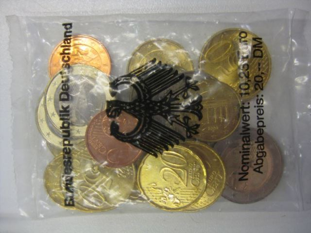 Starterkit €-Münzen Prägestätte