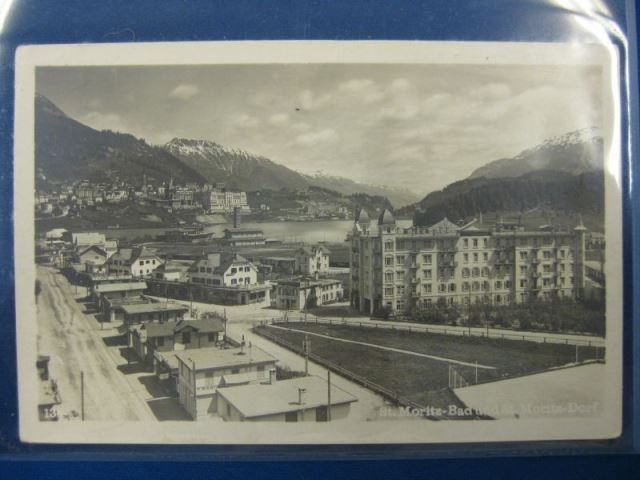 St. Moritz Bad und St. Moritz Dorf