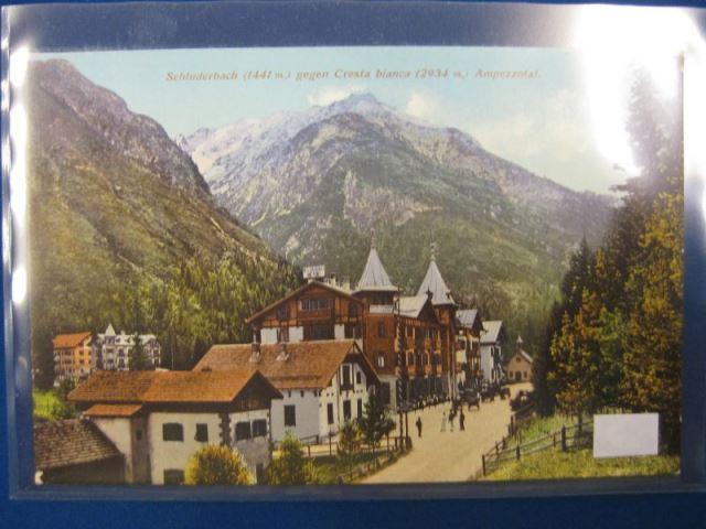 Italien Südtirol Schluderbach