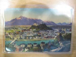 Salzburg Feldpost Bahnpoststempel