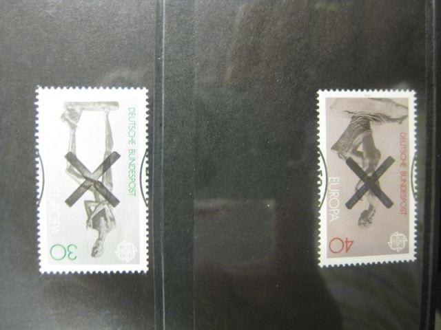 CEPT EUROPA-UNION 1974 Bundesrepublik Deutschland Mi.-Nr. 804-05 mit Andreaskreuz
