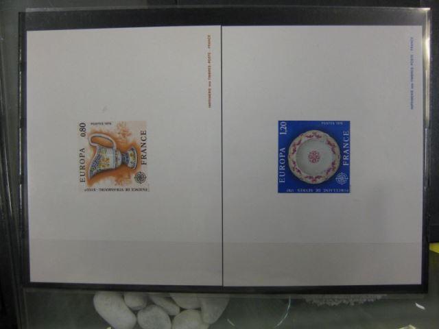 CEPT EUROPA-UNION Frankreich 1976 Mi.-Nr. 1961-62