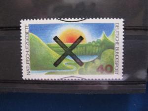 Bundesrepublik Deutschland Mi.-Nr. 1052 mit Andreaskreuz