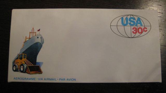 USA Aerogramm Ganzsache 1981