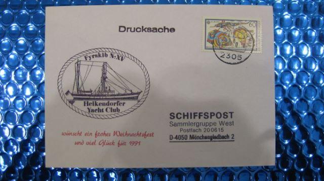Heikendorfer Yacht Club Schiffspost