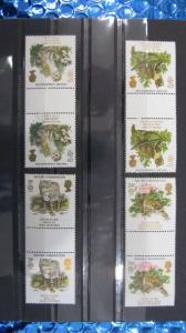 CEPT EUROPA-UNION 1986 Großbritannien Zwischenstegpaare 1068 ZW - 1071 ZW **