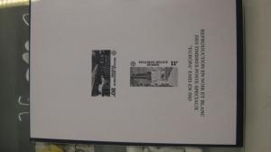 CEPT EUROPA-UNION Belgien 1983 Schwarzdruck der Mi.-Nr. 2144-45